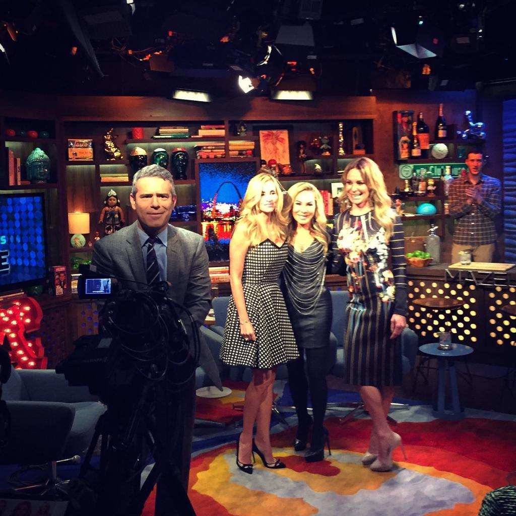 WWHL Adrienne, Camille, Taylor