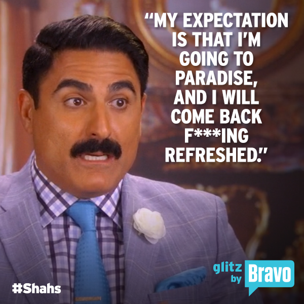 Shahs Reza Expectations
